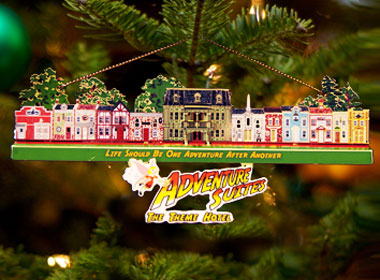 Adventure Suites Christmas Ornament